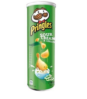 Resim Pringles Sour Cream & Onion Patates Cipsi 165 g