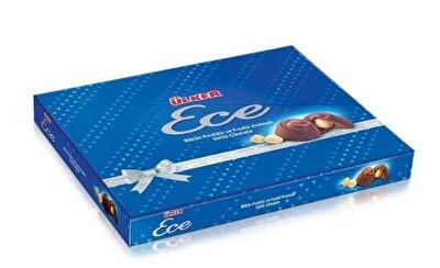 Resim Ülker Ece Fındıklı Sütlü Çikolata Çinili 215 g