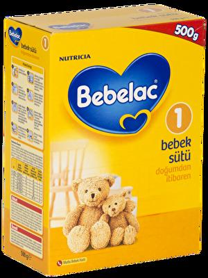 Resim Bebelac 1 Bebek Sütü 0-6 Ay 500 g