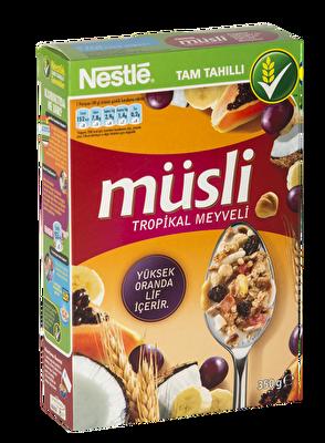 Resim Nestle Müsli Tropikal Meyveli 350 g