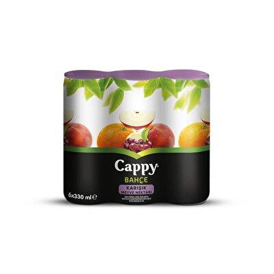 Resim Cappy Meyve Suyu Karışık Kutu M.P. 6*330 ml