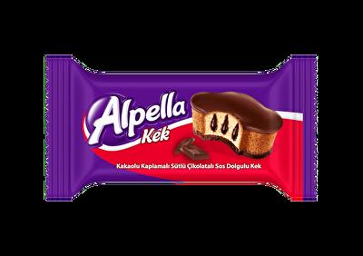 Resim Alpella Kakao Kaplı Çikolata Soslu Kek 24'lü 40 g