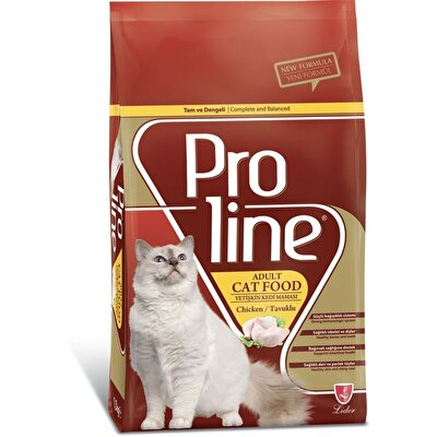 Resim Proline Yetişkin Kedi Maması Tavuklu Adet