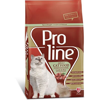 Resim Proline Yetişkin Kedi Maması Kuzu Etli&Pirinçli Adet