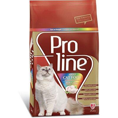 Resim Proline Yetişkin Kedi Maması Multi Colour Ad