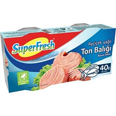 Resim Superfresh Ayçiçek Yağlı Ton Balığı 2X150 g