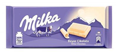 Resim Milka Çikolata Beyaz 80 g