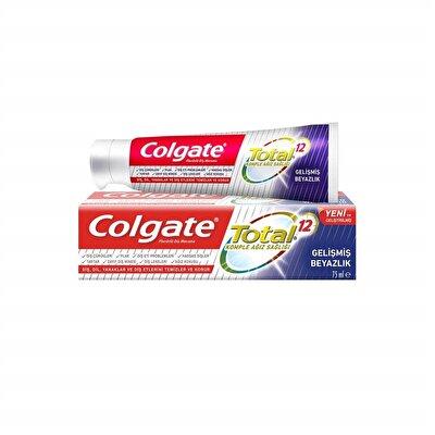 Resim Colgate Total Gelişmiş Beyazlık 75 ml