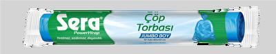 Resim Sera Jumbo Boy Çöp Torbası 80x110 Cm Adet