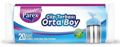 Resim Parex Güçlü Çöp Torbası Orta Boy - Adet