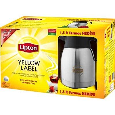 Resim Lipton Yelllow Label Demlik Poşet 750*3,2 g