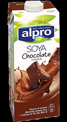 Resim Alpro Çikolata Aromalı Soya Sütü 1 l