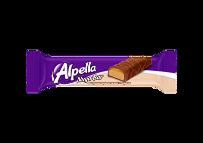 Resim Alpella Karamelli Nuga Bar 24'lü 35 g