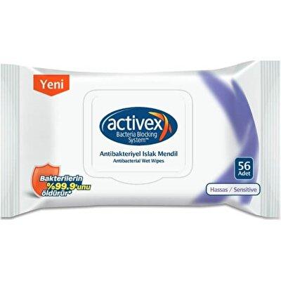 Resim Activex Antibakteriyel Islak Mendil 56'lı