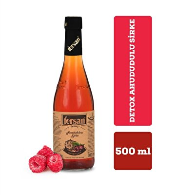 Resim Fersan Detox Ahududu Sirkesi Cam 500 ml