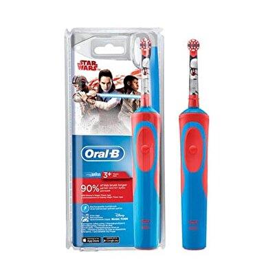 Resim Oral-B Şarjlı Çocuk Diş Fırçası Starwars-D Adet