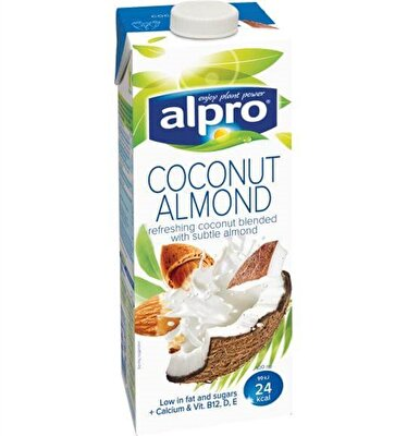 Resim Alpro Hindistan Cevizi Badem Sütü 1 l