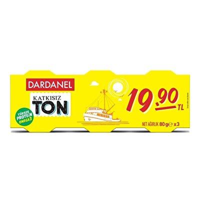 Resim Dardanel Ekonomik Ton Balığı 3X80 g