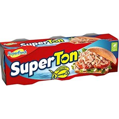 Resim Superton Ayçiçek Yağlı Ton Balığı 3*75 g